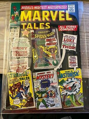 Silver Age Marvel Tales #10 Comic in 5.5 FN- Condition! Spider-Man and Thor!