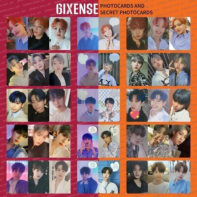 AB6IX 6IXENSE Authentic PHOTO CARD BOOKMARK ENVELOPE PHOTOCARD kpop KOR SELLER