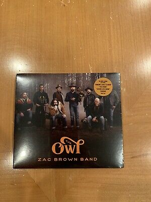 *** Zac Brown Band ** The Owl ** Cd ** Brand New/Sealed ***