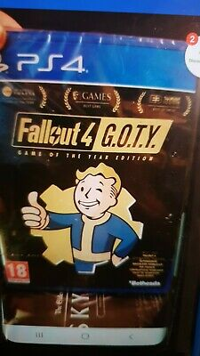 Fallout 4 GOTY Neuf Sous Blister PS4