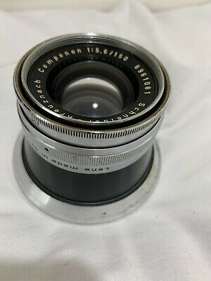 SCHNEIDER KREUZNACH COMPONON 150mm f/5.6 LENS Made In Germany