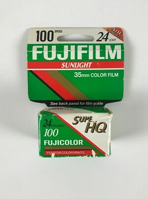 Fujifilm 35mm Super HG II 100 Speed Color Film 2000 24 Exp. NOS Made in Japan