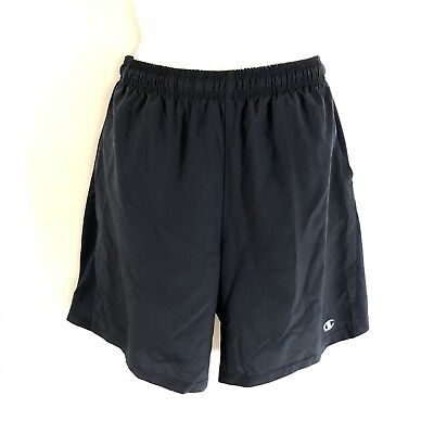 "Champion Mens M Navy Athletic Shorts Mesh Lining 8.5"" Inseam"
