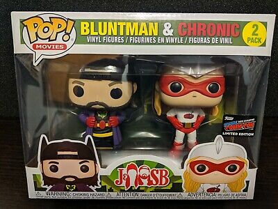 🔥Funko Pop!🔥Bluntman & Chronic 2 Pack🔥Nycc 2019 Official Sticker🔥Movies🔥