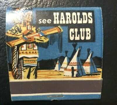 Harolds Club Reno Match Book