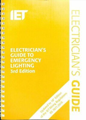 Electrician's Guide to Emergency Lighting 9781785616136 | Brand New