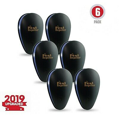 Mice Repeller [6 Pack] Ultrasonic Pest Reject and Insect Repellent- Plug in-
