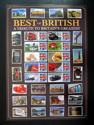 GB Royal Mail Westminster Smilers Sheet Best of British Limited Edition BQ595