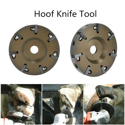 Electric Livestock Hoof Trimming Disc Plate Tool with 7 Blades  Aluminium Alloy