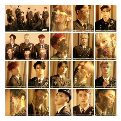 ATEEZ New Album LOMO Card TREASURE EP.FIN ALL TO ACTION Photo Card Picture 2019