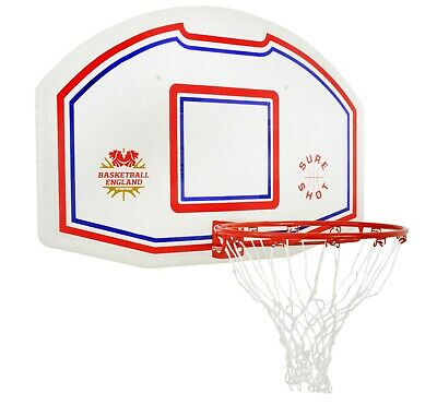 Sure Shot EB Basketball Backboard & Ring