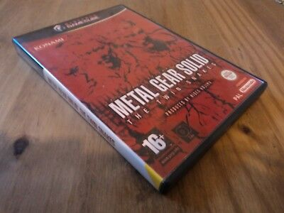 Replacement Metal Gear Solid The Twin Snakes Gamecube Case - Empty Box Only