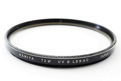 [Exc+5 Genuine]  Mamiya 72mm Lens Filter for Ex/ SEKOR P 75mm Lens from Japan