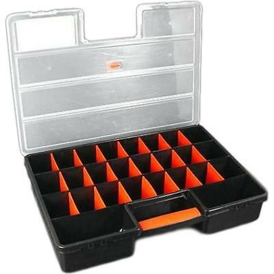 26 Compartment Plastic Storage Box for Beads Beading Watch Parts Findings