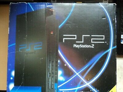 Replacement Sony Playstation 2 Box - Empty Console Box & Manual Only