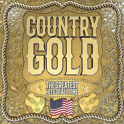 COUNTRY GOLD ALL TIME GREATEST HITS NEW 3 CD Country And Western / Country Rock