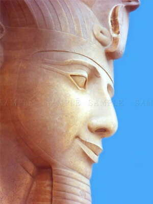 111221 CULTURAL ANCIENT STATUE PHARAOH EGYPT HOME Decor LAMINATED POSTER AU