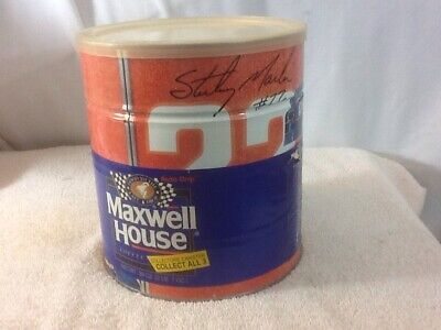 Collectible MAXWELL HOUSE Coffee # 22 STERLING MARLIN Orange Unopened Collectors