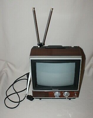 "Vintage Panasonic 11"" ColorPilot Television TV CTG-1000  CRT Gaming Instructions"