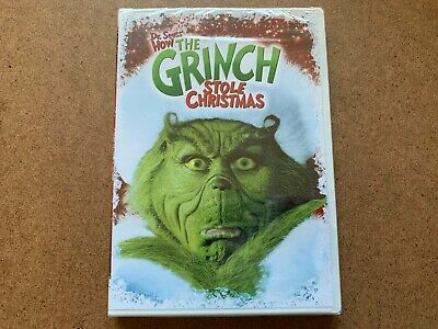 Dr. Seuss How The Grinch Stole Christmas Dvd New & Sealed