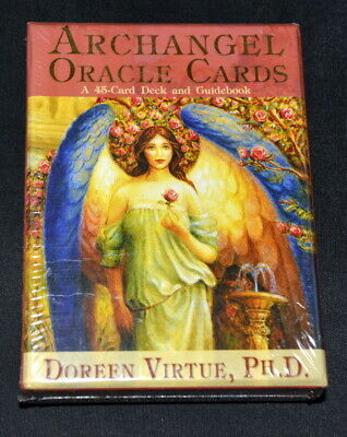 Archangel Oracle Cards deck, full size complete ENGLISH edition by Doreen Virtue