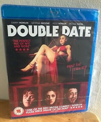 Double Date Blu-ray Danny Morgan ACCLAIMED COMEDY / HORROR NEW & SEALED RRP £25!