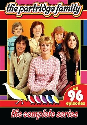 THE PARTRIDGE FAMILY COMPLETE SERIES Sealed New DVD Seasons 1-4 Season 1 2 3 4