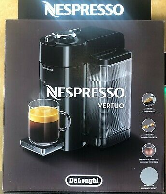 De'Longhi 1350 W Nespresso Vertuo Coffee and Espresso Machine Silver ENV135S NEW