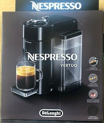 De'Longhi 1350 W Nespresso Vertuo Coffee and Espresso Machine Graphite Metal