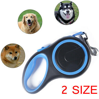 Heavy Duty Large Dog Puppy Extendable Retractable Lead Set 3M/5M Up To 25KG Dogs