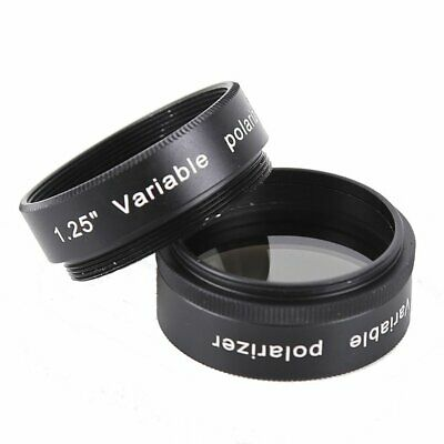 1.25 ,2 inch Filter Variable Polarizing for Astronomy Monocular Filter Go