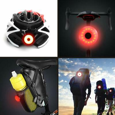 Bike Bicycle Helmet Rear Tail Light LED USB Rechargeable Safety Warning Lamp AU