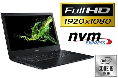 "ACER A317 - CORE i5 - BIS 1000GB SSD 32GB RAM - NVIDIA MX250 - 17.3"" FULL HD"