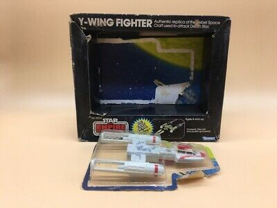Star Wars Y Wing Fighter Empire Strikes Back Kenner 39220 Die Cast Metal + Box !