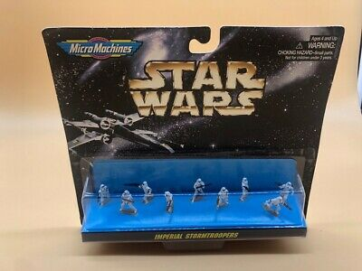 1997 Star Wars Micro Machine Galoob Imperial Stormtrooper Rare!