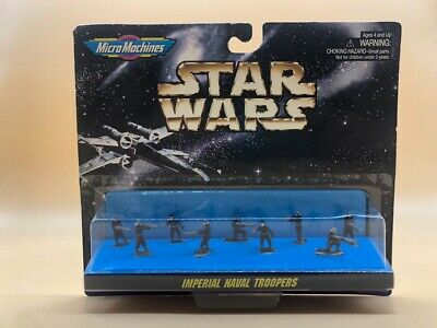 1997 Star Wars Micro Machine Galoob Imperial Naval Trooper Rare!