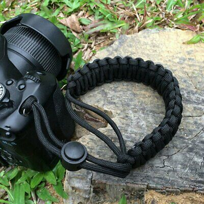 Wrist Lanyard Camera Strap Grip Adjustable Weave for DSLR Camera Wrist Strap