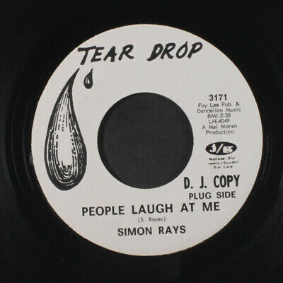 SIMON RAYS: People Laugh At Me / Make Believe 45 (dj, obscure one on this Texas