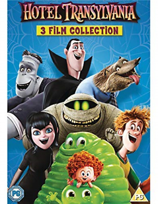 Hotel Transylvania 3 Film Collection DVD NEW