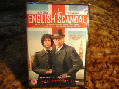 A Very English Scandal. Grant/Whishaw. New/Sealed.gay Theme. Bbc. 2018. Dvd