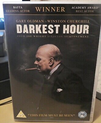 Darkest Hour Dvd Pg New/Unplayed 2018 Gary Oldman Bafta/Academy Winner+Dig D'loa