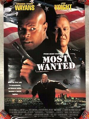 1998 Movie Poster *Most Wanted * Wayans ,Voight 26X40 Pb1