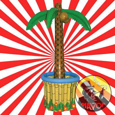 6ft Luau Hawaiian Garden Party Palm Tree Inflatable Drinks Cooler by Amscan