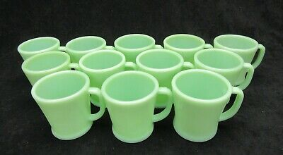 Vintage Fire King Jadeite Jadite G-1212 Flat Bottom Shaving Mug G-1212 Mint