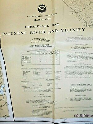 NOAA Chart - # 12264 - Chesapeake Bay - Patuxent River & Vicinity - Maryland
