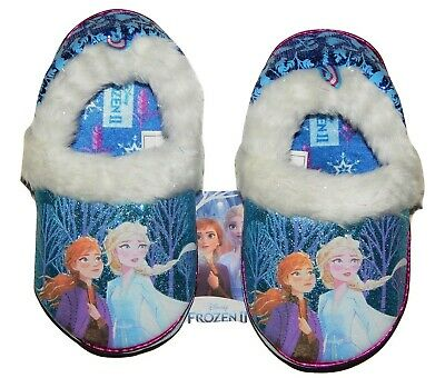 11//12 Disney Frozen Pink Anna and Elsa slippers 7//8 13//1 9//10 2//3