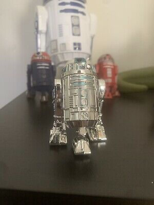 "Star Wars SAGA Series Silver Anniversary R2-D2 2.5"" Action Figure Loose"