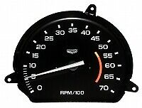 Tachometer-Assembly With 5500 Rpm Red Line-L-48-78-79