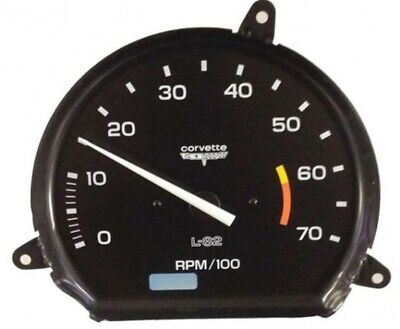 Tachometer-Assembly With 6000 Rpm Red Line-L-82-80