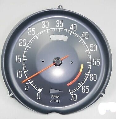 Tachometer-Assmebly With 6000 Red Line-L-82-75-77